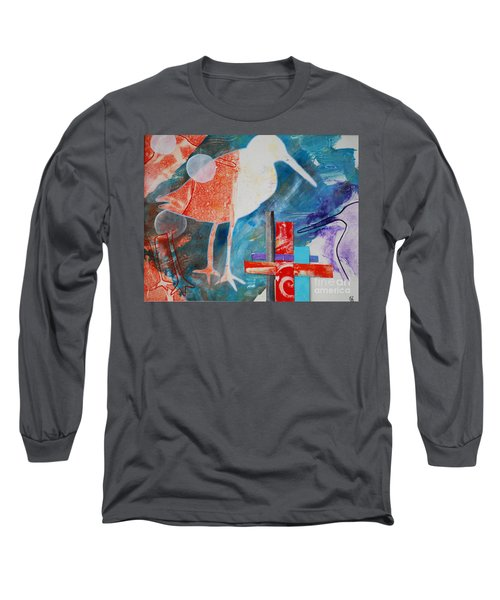 Sandpipers On The Shore Long Sleeve T-Shirt