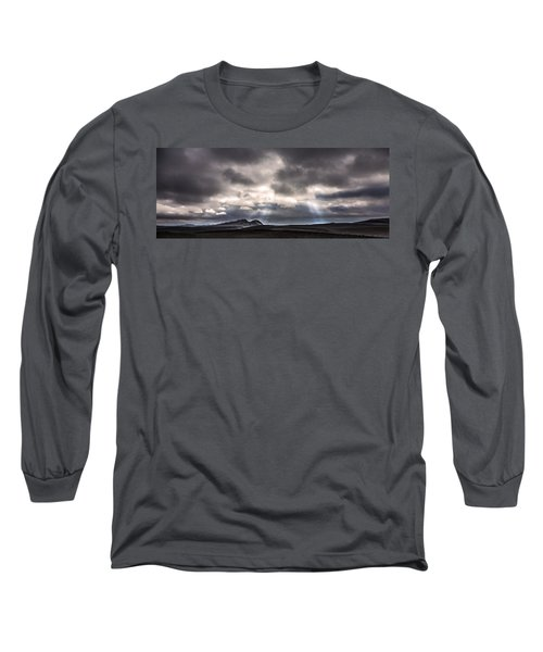 Long Sleeve T-Shirt featuring the photograph Sands Of Time by Gunnar Orn Arnason