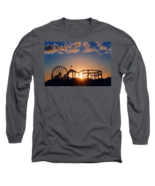Santa Monica Pier Long Sleeve T-Shirt