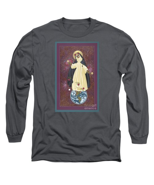 Santa Rosa Patroness Of The Americas 166 Long Sleeve T-Shirt by William Hart McNichols