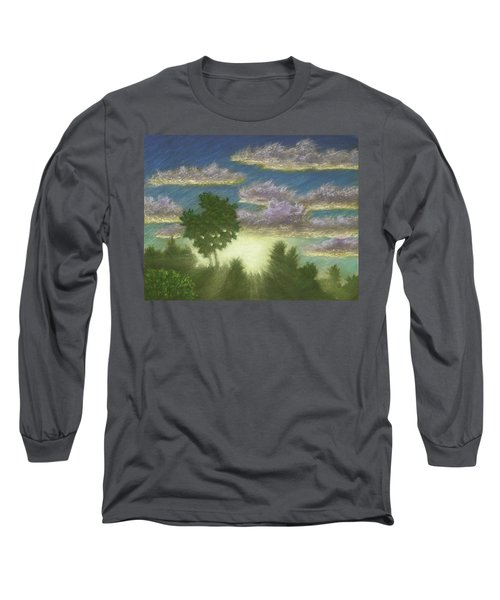 Santee Sunset 01 Long Sleeve T-Shirt