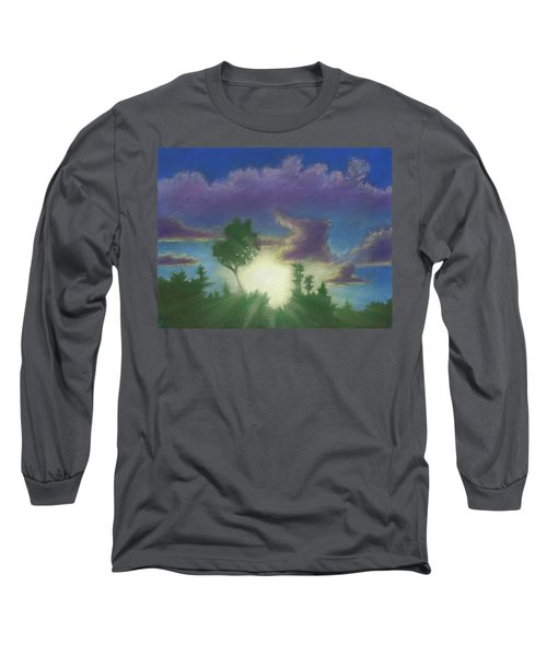 Santee Sunset 02 Long Sleeve T-Shirt