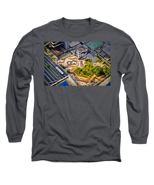 Sao Paulo Downtown - Geometry Of Public Spaces Long Sleeve T-Shirt
