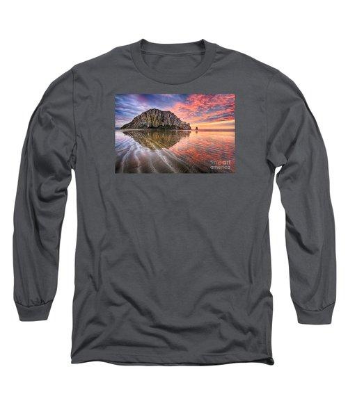 Sapphire Red Long Sleeve T-Shirt