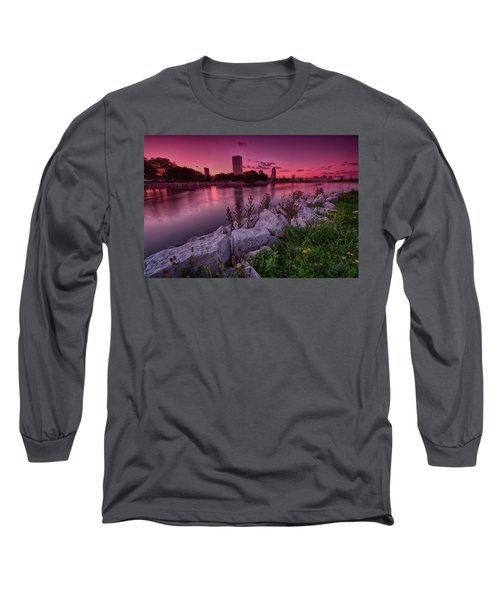 Scenic Sunset Long Sleeve T-Shirt by Jonah  Anderson
