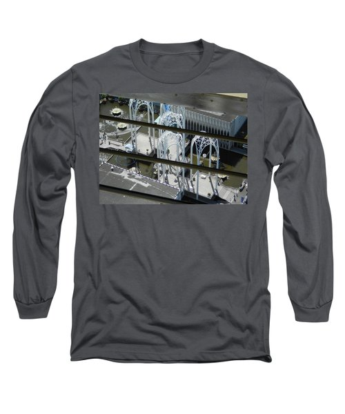 Science From The Top Long Sleeve T-Shirt by David Trotter