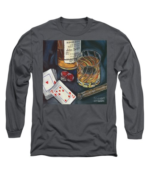 Scotch And Cigars 4 Long Sleeve T-Shirt