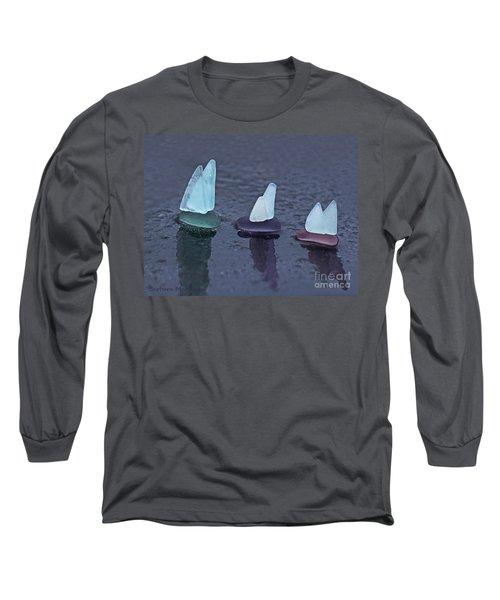Sea Glass Flotilla Long Sleeve T-Shirt