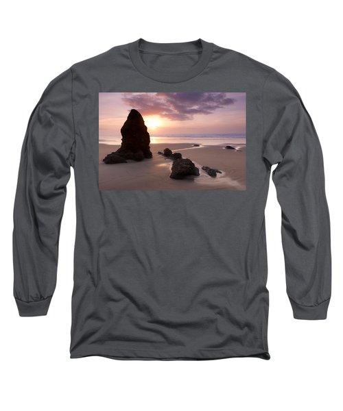 Sea Stack Sunset Long Sleeve T-Shirt