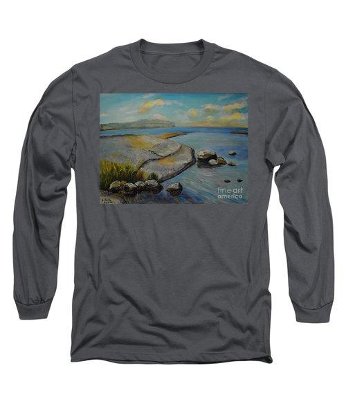 Seascape From Hamina 1 Long Sleeve T-Shirt
