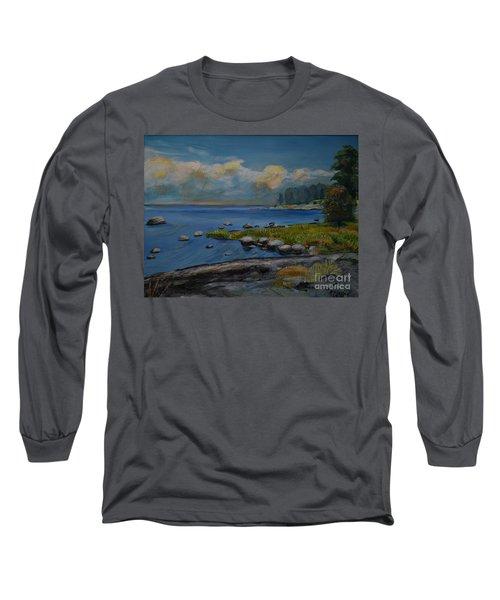 Seascape From Hamina 2 Long Sleeve T-Shirt