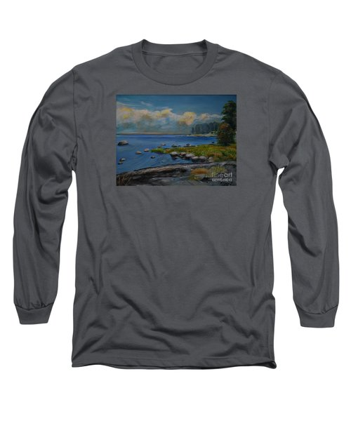 Seascape From Hamina 2 Long Sleeve T-Shirt