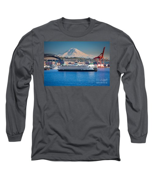 Seattle Harbor Long Sleeve T-Shirt