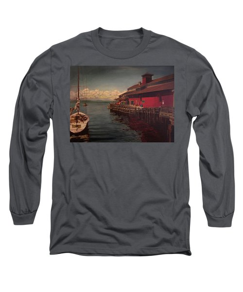 Seattle Waterfront Long Sleeve T-Shirt