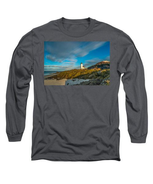 Seaweed Swagger And Time Traveling Clouds  At Annisquam Harbor L Long Sleeve T-Shirt