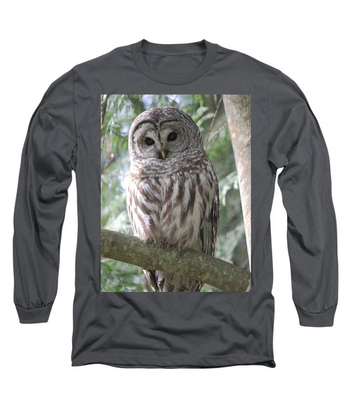 Security Cam Long Sleeve T-Shirt by Randy Hall