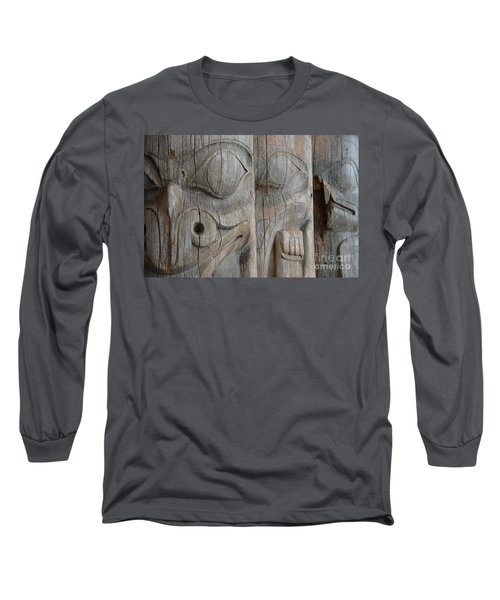 Seeing Through The Centuries Long Sleeve T-Shirt by Brian Boyle