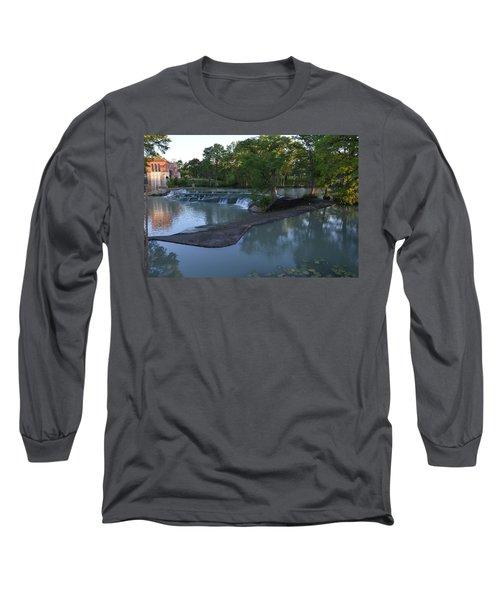 Seguin Tx 01 Long Sleeve T-Shirt by Shawn Marlow