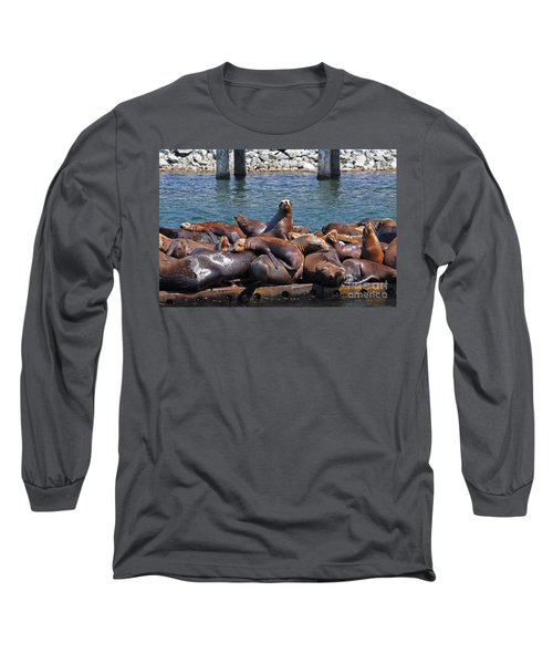 Sentry Sea Lion And Friends Long Sleeve T-Shirt