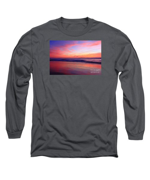 Serene Oceanside Glow Long Sleeve T-Shirt