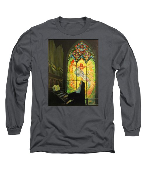 Serenity  Long Sleeve T-Shirt by Donna Tucker