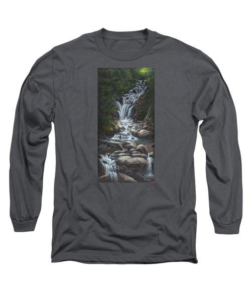 Serenity Long Sleeve T-Shirt by Kim Lockman
