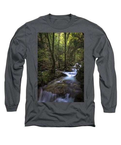 Sesin Stream Near Caaveiro Long Sleeve T-Shirt