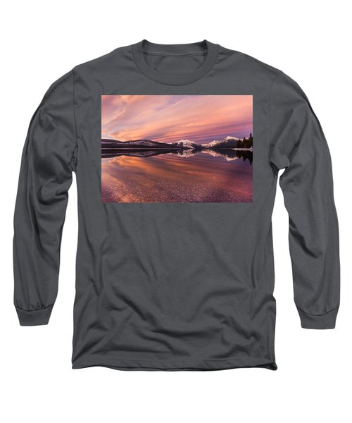 Setting On Glacier Long Sleeve T-Shirt