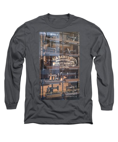 Long Sleeve T-Shirt featuring the photograph Sew What by Carol Lynn Coronios