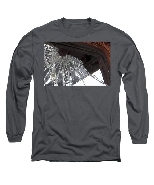 Shattered Long Sleeve T-Shirt by Lynn Sprowl