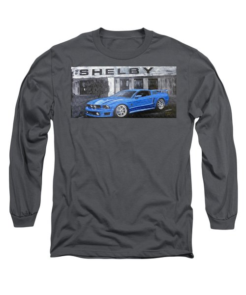 Shelby Mustang Long Sleeve T-Shirt