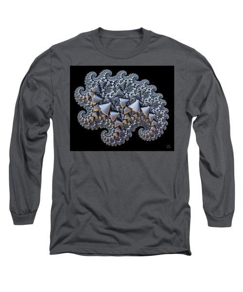 Shell Amoeba Long Sleeve T-Shirt by Manny Lorenzo