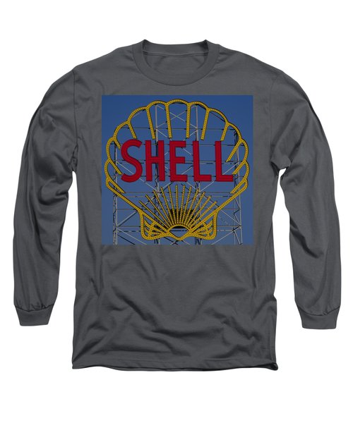 Shell Sign Cambridgeside Long Sleeve T-Shirt