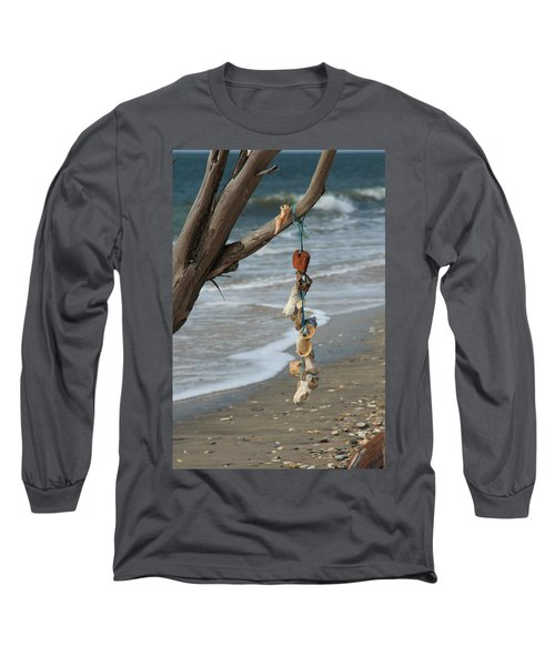 Shells On A String Long Sleeve T-Shirt
