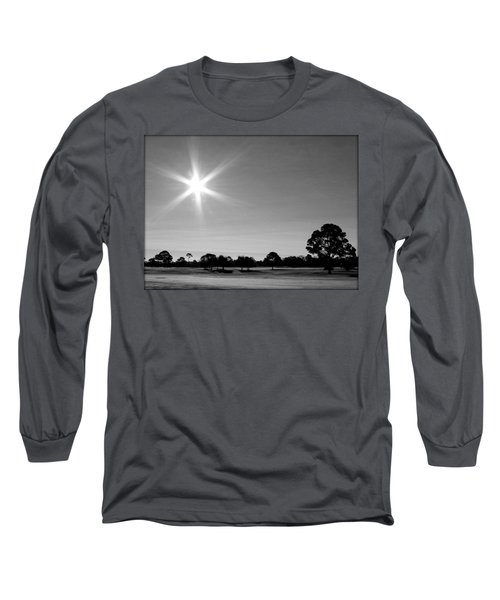Long Sleeve T-Shirt featuring the photograph Shine And Rise by Faith Williams