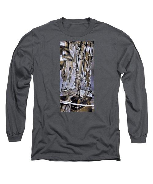 Long Sleeve T-Shirt featuring the photograph Shining Sea by Robert McCubbin