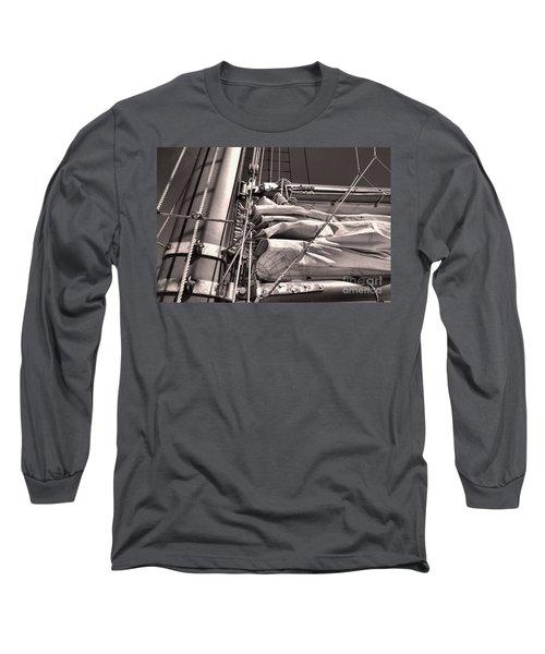 Long Sleeve T-Shirt featuring the photograph Ship Shape 1 by John S