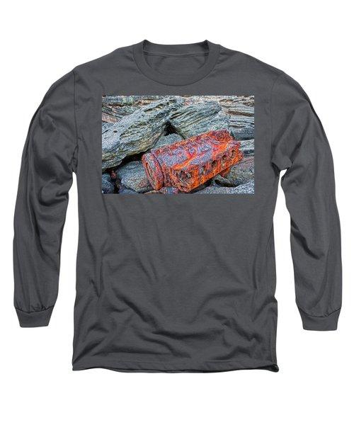 Shipwrecked ? Long Sleeve T-Shirt by Miroslava Jurcik