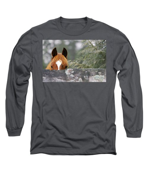 Shyness Long Sleeve T-Shirt by Michelle Twohig