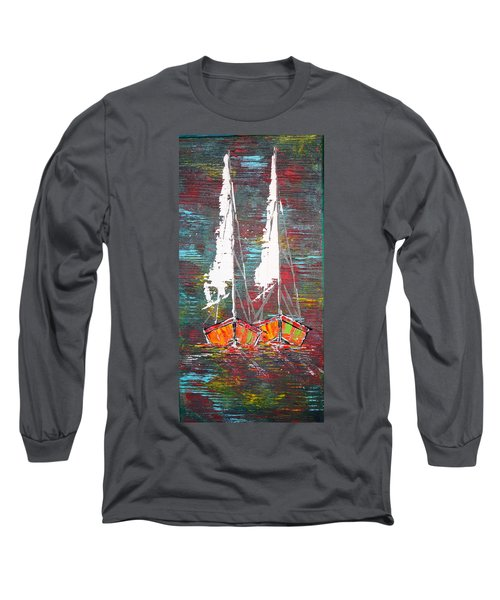 Side By Side - Sold Long Sleeve T-Shirt