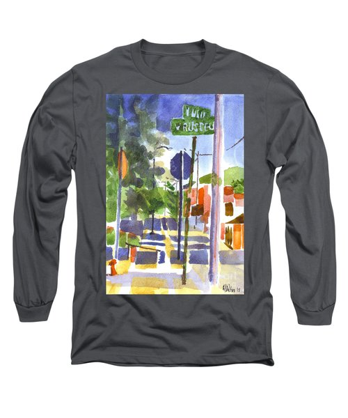 Sign Posts Long Sleeve T-Shirt