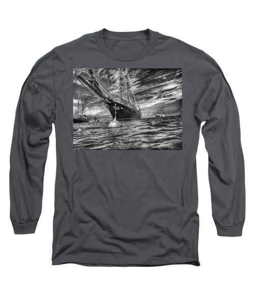 Long Sleeve T-Shirt featuring the photograph Silent Lady by Howard Salmon