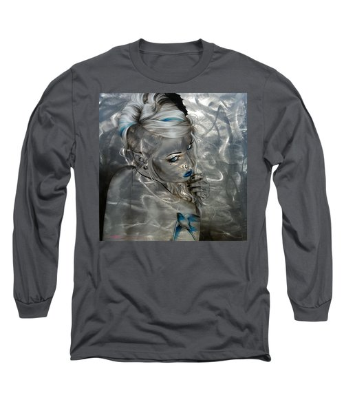 Silver Flight Long Sleeve T-Shirt