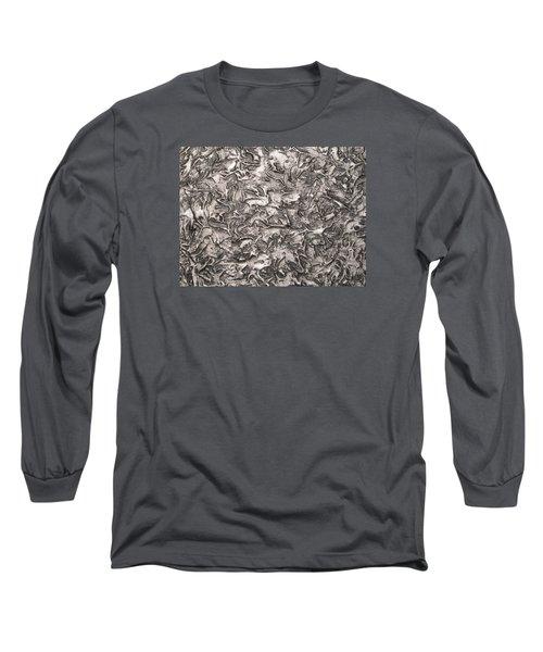 Silver Streak Long Sleeve T-Shirt
