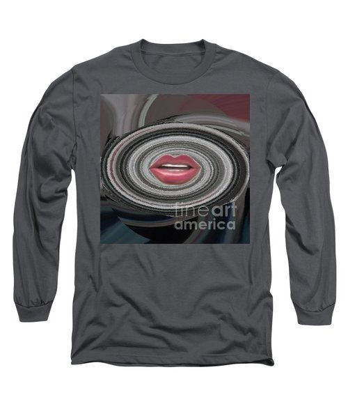 Long Sleeve T-Shirt featuring the digital art Sing by Catherine Lott