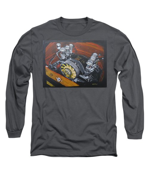 Singer Porsche Engine Long Sleeve T-Shirt