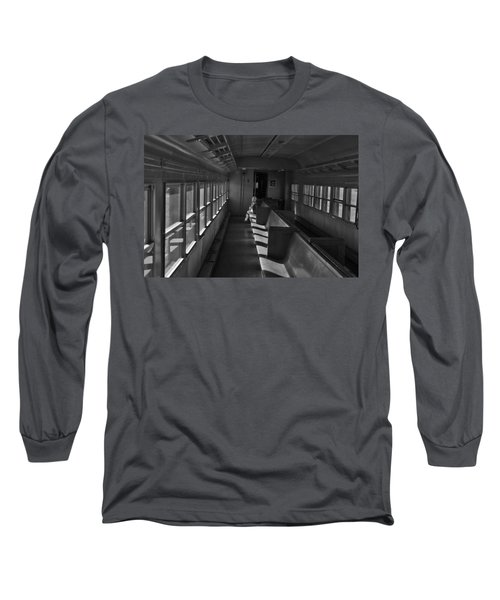 Long Sleeve T-Shirt featuring the photograph Singin' In The Train by Jeremy Rhoades