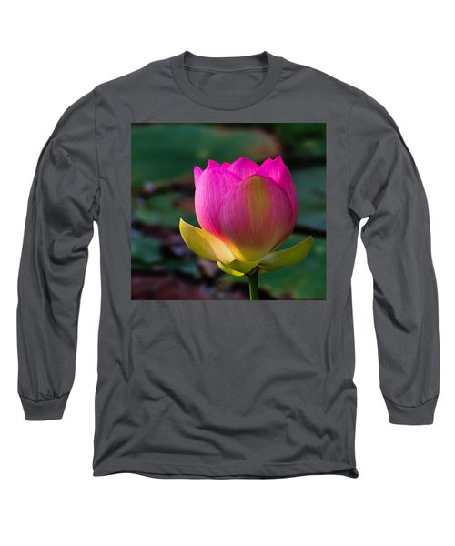 Single Blossum Long Sleeve T-Shirt