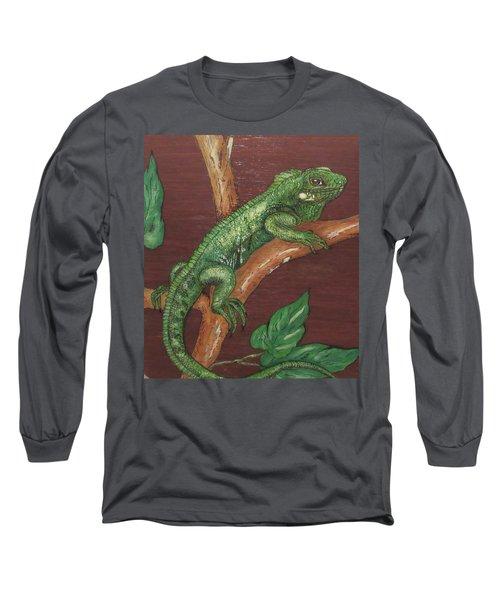 Sir Iguana Long Sleeve T-Shirt