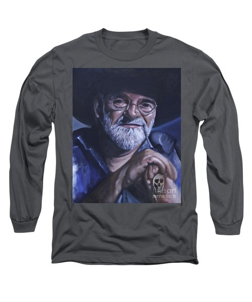 Sir Terry Pratchett Long Sleeve T-Shirt